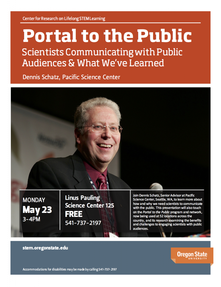 Portal to the Public flyer