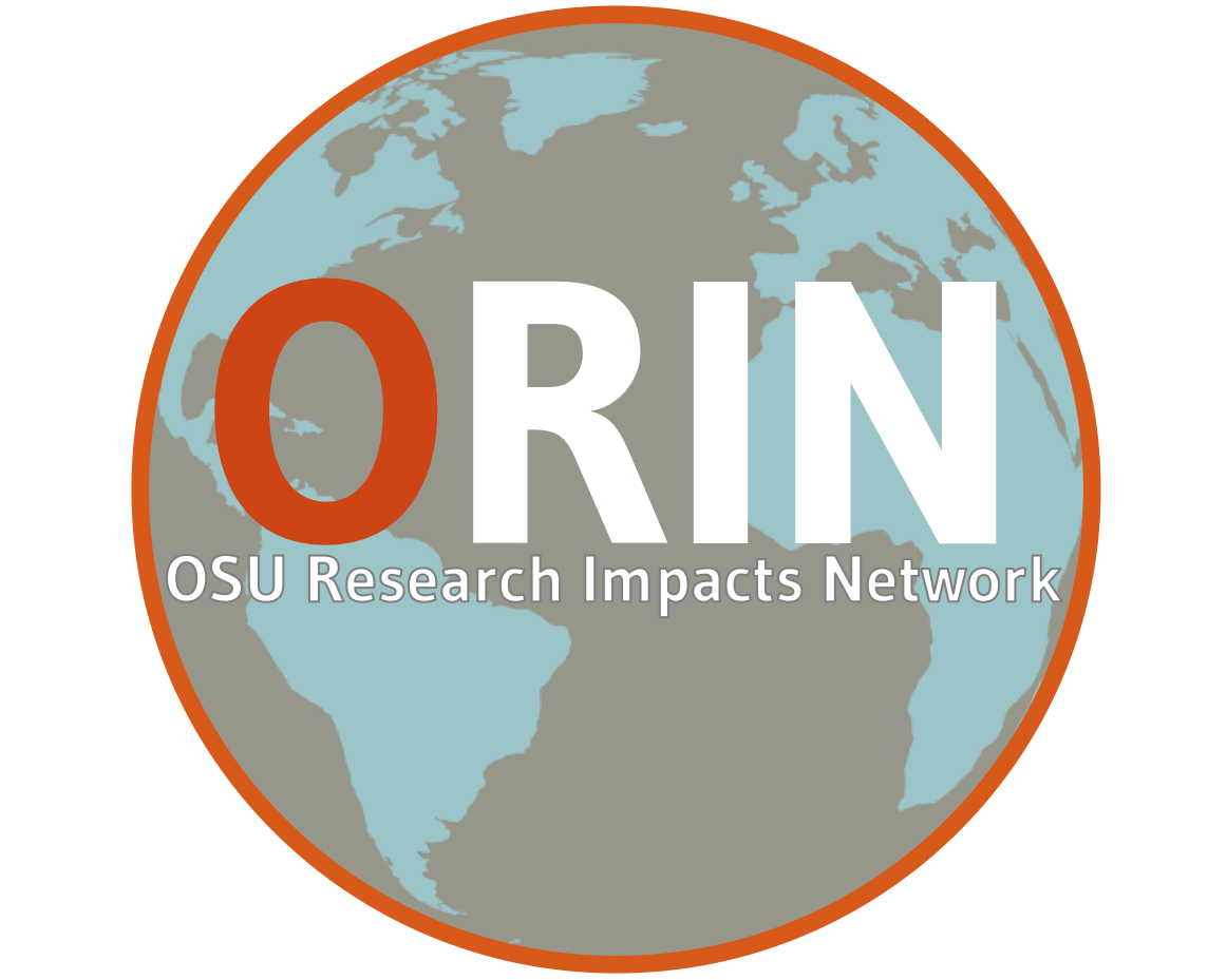 OSU research impacts network icon, linking to the ORIN website