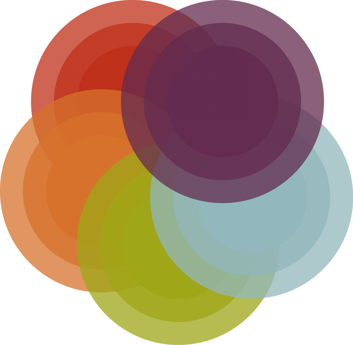 colorful circular graphic image